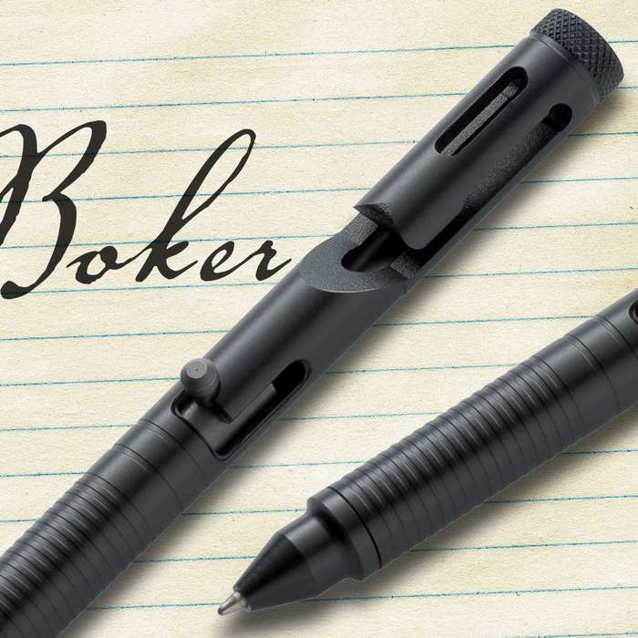 Boker Plus Tactical Pen .45 Cal Black