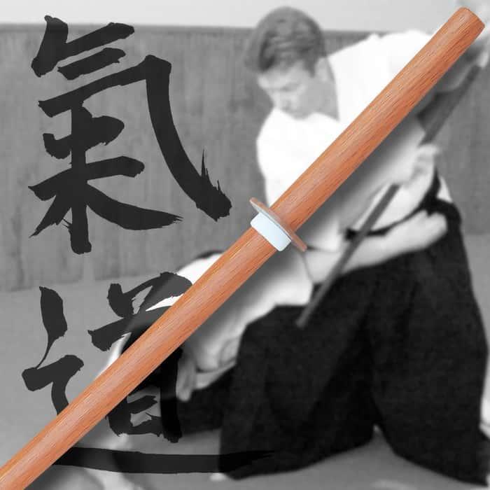 Natural Wood Daito Sword