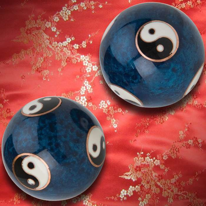 Ying Yang Chinese Tranquility Balls