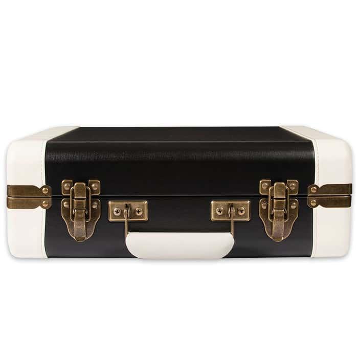 Crosley Executive Portable USB Turntable Black/White