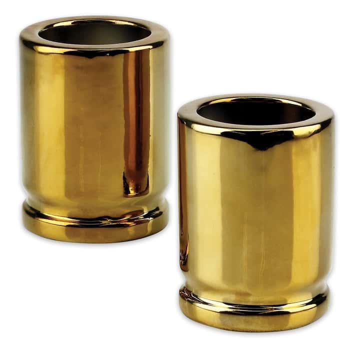 .50 Caliber Shot Glass - Set Of Two