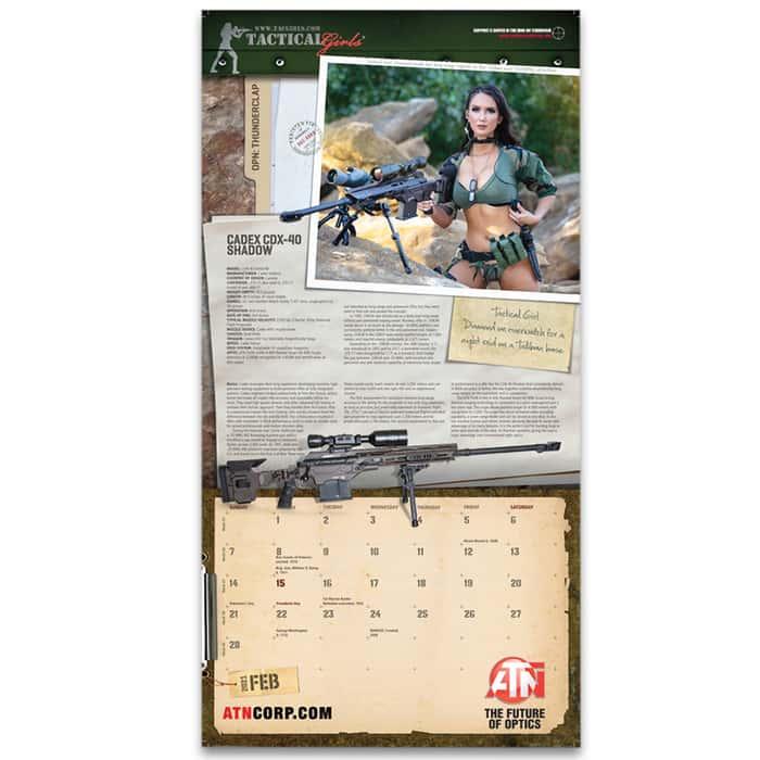 2020 Tactical Girls Calendar