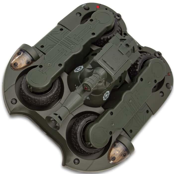 RC Amphibious Airsoft Tank