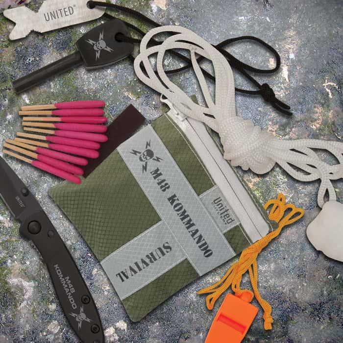M48 Kommando 8-Pc Adventure Survival Kit