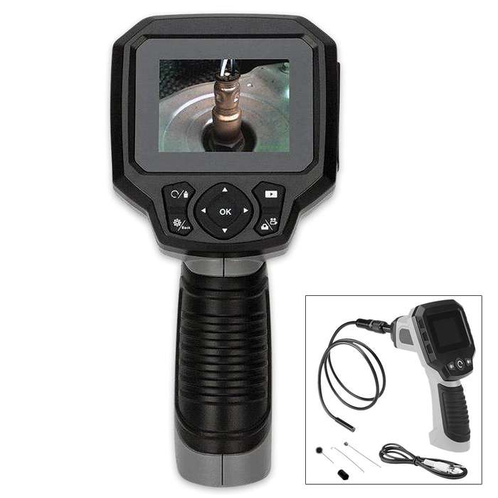 2.4 In. LCD Inspection Camera
