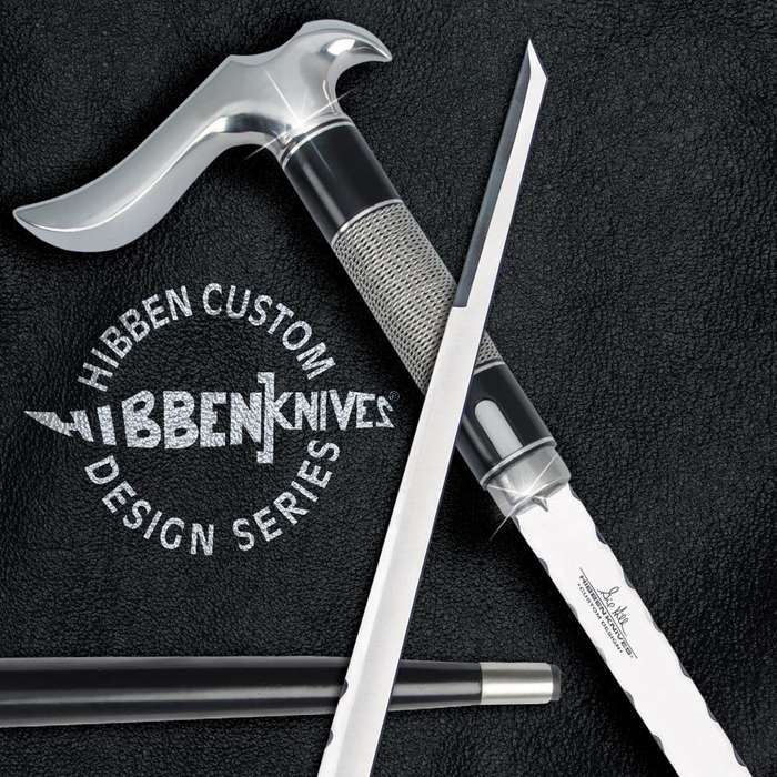 Gil Hibben Custom Hook Sword Cane