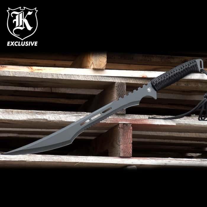 Secret Agent Tactical Ninja Sword with Shoulder Harness Scabbard