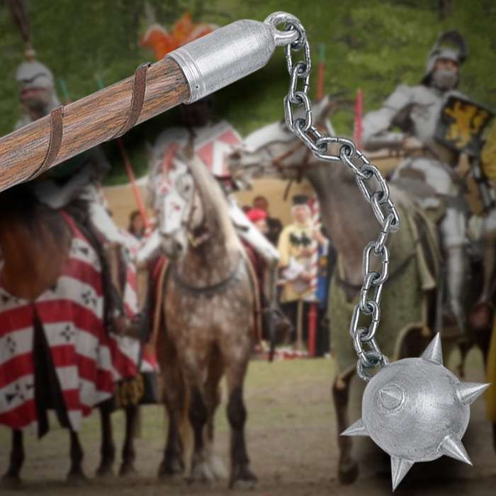 Middle Ages Spiked Flails