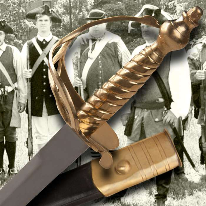 Legends In Steel 1776 Battle of Bunker Hill Sword
