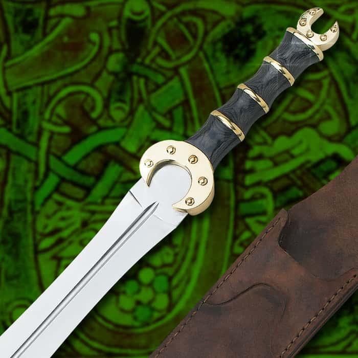 Full Size Celtic Dress Sword & Scabbard