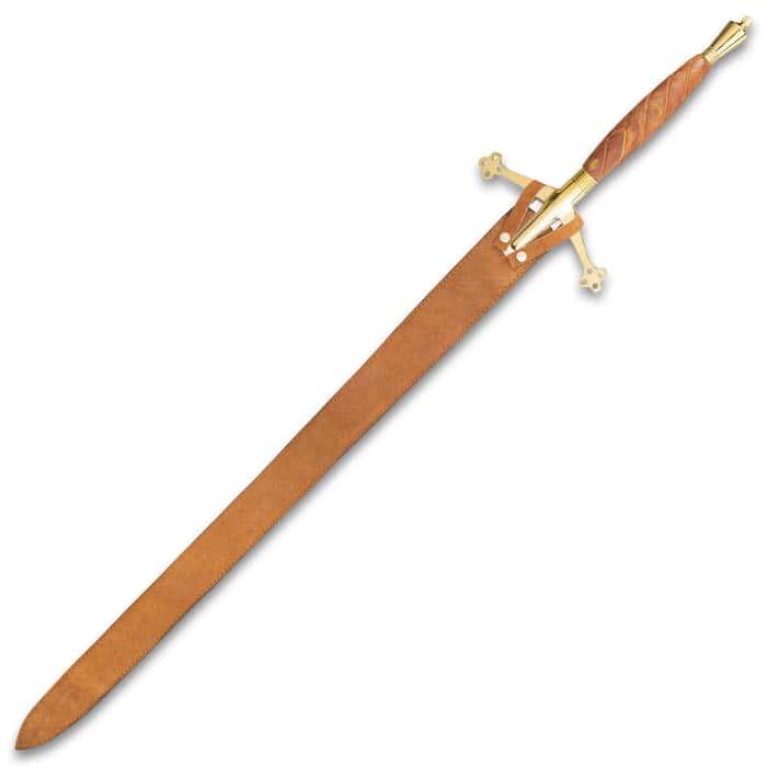 Legends In Steel Scottish Early Pattern Claymore Sword