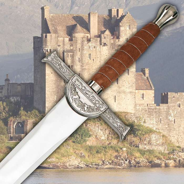 Scottish MacLeod Broadsword