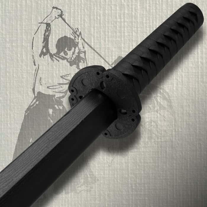 Polypropylene Training Boken Sword Black
