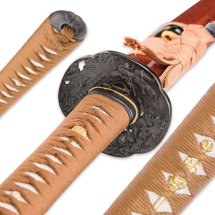 Musashi Hidden Dragon Samurai Sword - Hand-Forged