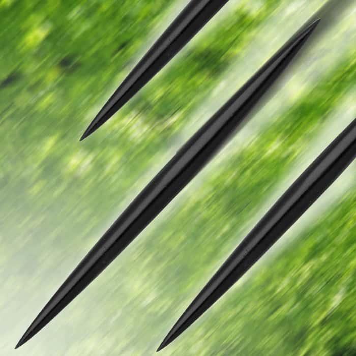Black Lightning Spikes