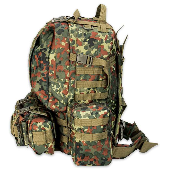 M48 Ops Gear Backpack German Flecktarn Camo