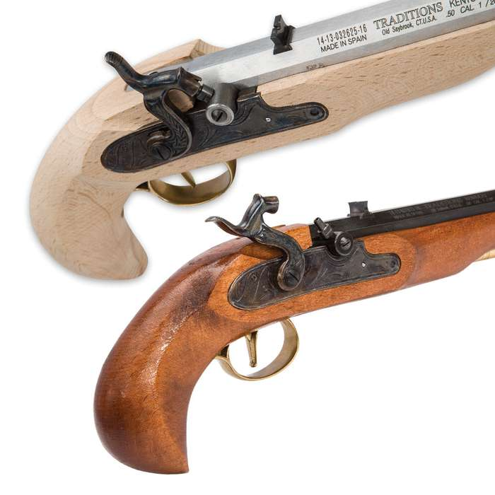 Traditions Kentucky Pistol Kit - Build It Yourself