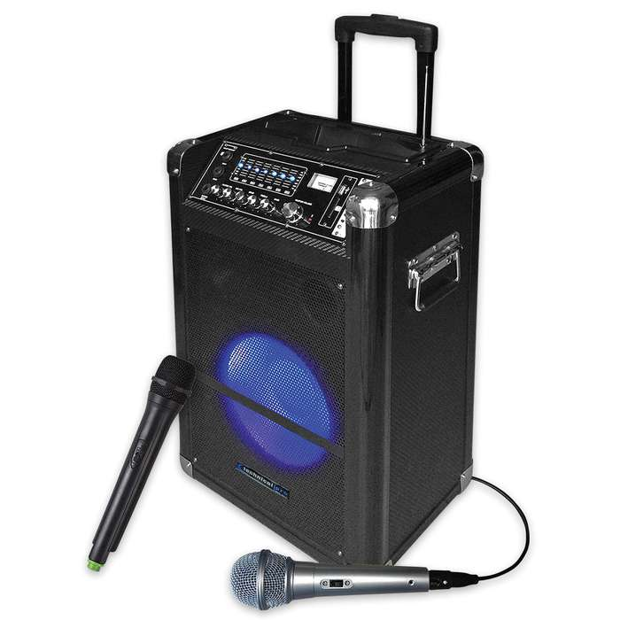 10 Inch Portable Wireless Rechargeable PA System