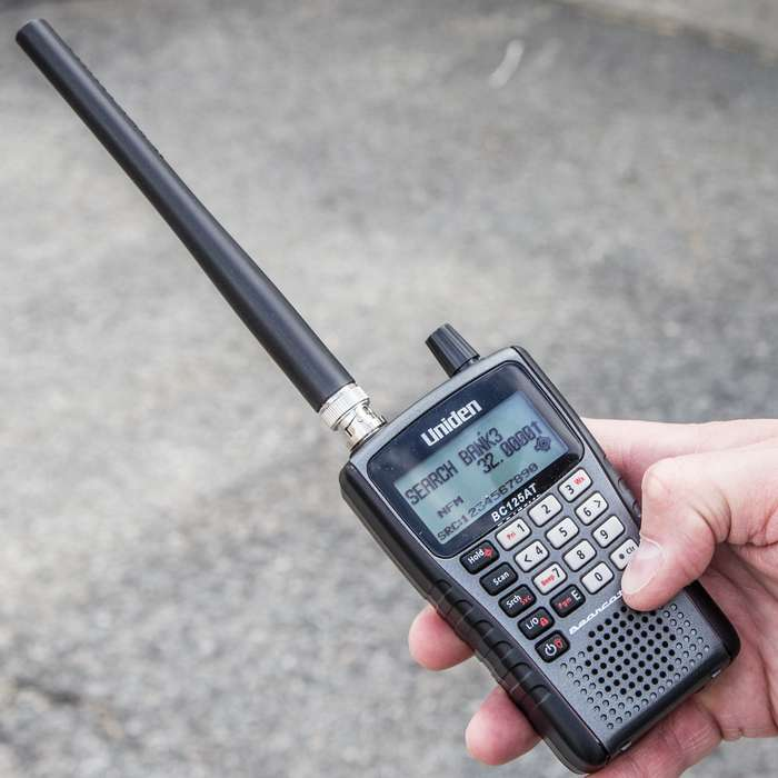 Uniden Bearcat 500-Channel Handheld Scanner