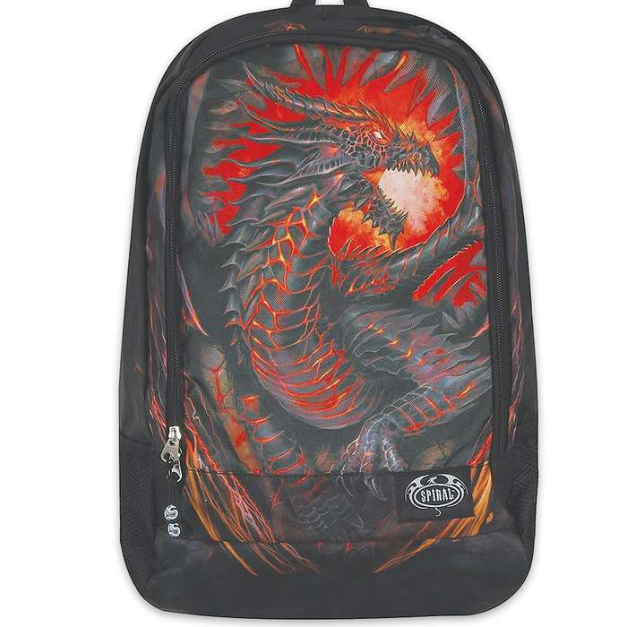 Dragon Furnace Backpack With Laptop Pocket