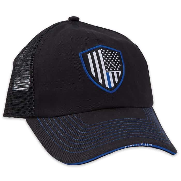 Thin Blue Line Police Cap - Hat