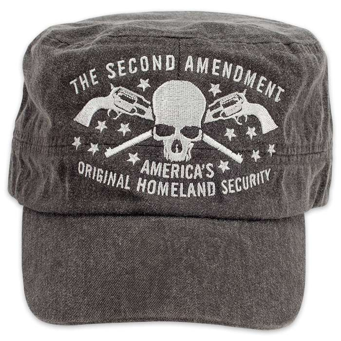 2nd Protects The First Flat Top Cap - Hat