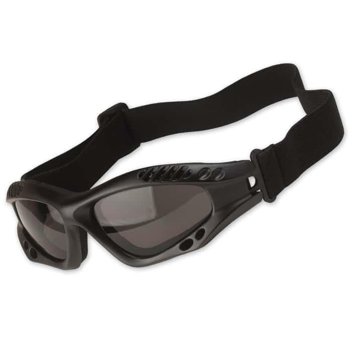 M48 OPS Tactical Goggles Black