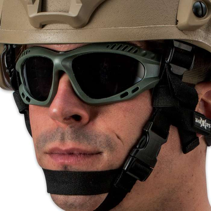 M48 OPS Tactical Goggles OD Green