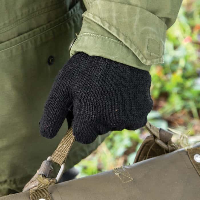 Rothco GI Glove Liners Black