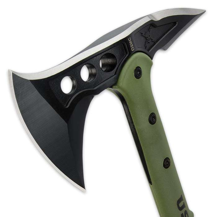 Officially Licensed USMC Tactical Tomahawk With Sheath