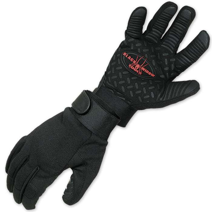 Black Widow Camping Hatchet With Free Gloves