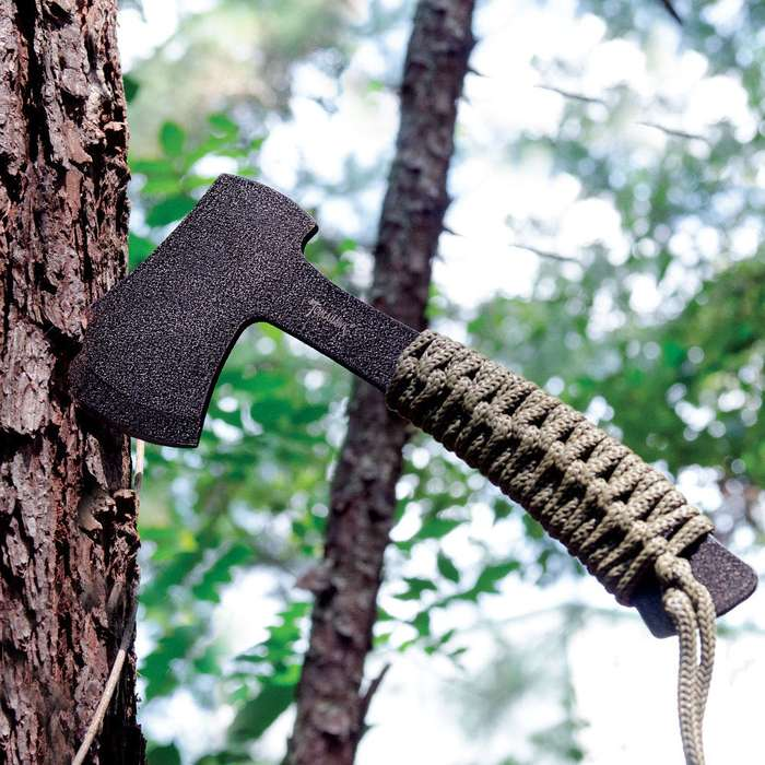 Tomahawk Compact Full Tang Axe For Camping & Hiking