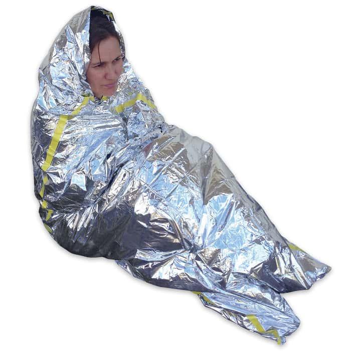 Emergency Survival Sleeping Blanket - Three-Pack
