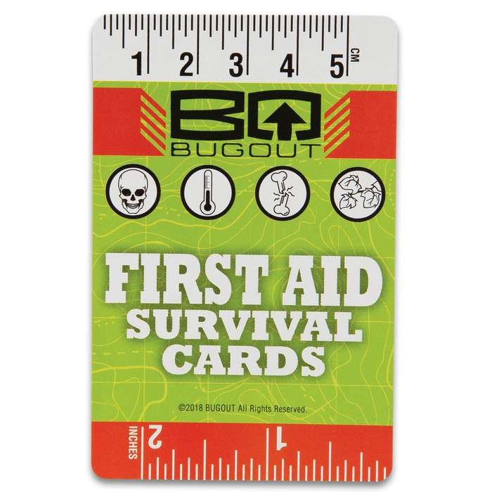 """Trailblazer First Aid Playing Cards - Made Of Sturdy Stock, Original Artwork, First Aid Information, Plastic Container - Dimensions 3 1/2""""x 2"""""""