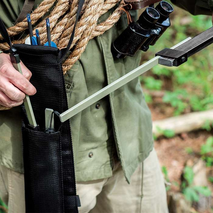 Nomad Compact Take-Down Survival Bow And Arrow
