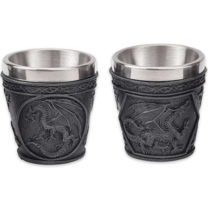 Dragon Shot Glasses - Set of Four