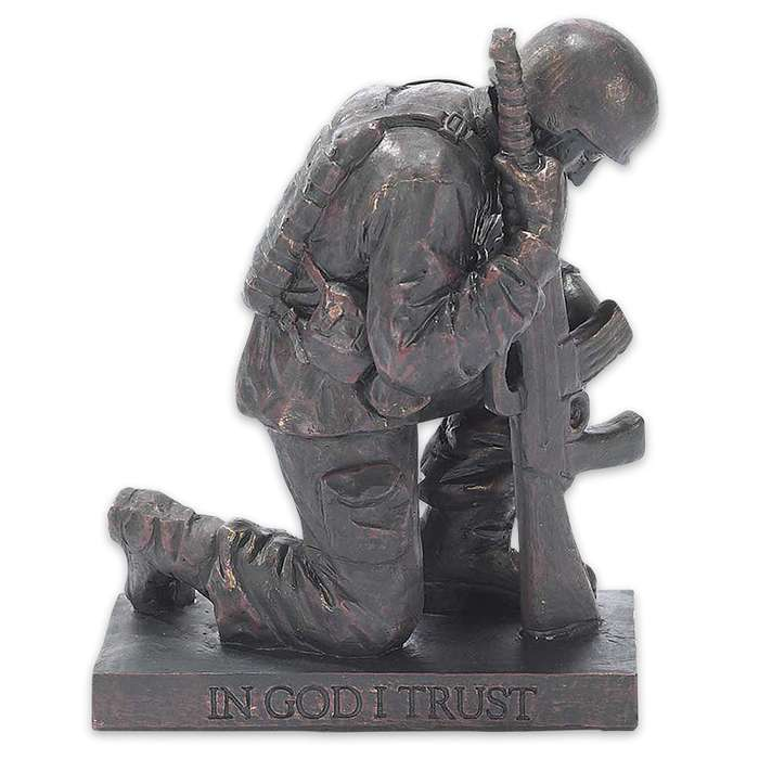 Called To Pray Soldier Figurine