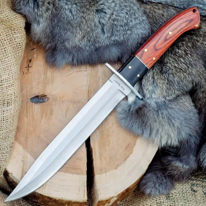 Ridge Runner Montana Toothpick Bowie Knife with Sheath