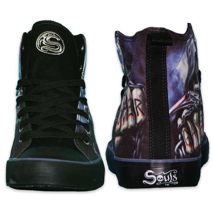 Game Over Men's High-Tops - Lace-Up