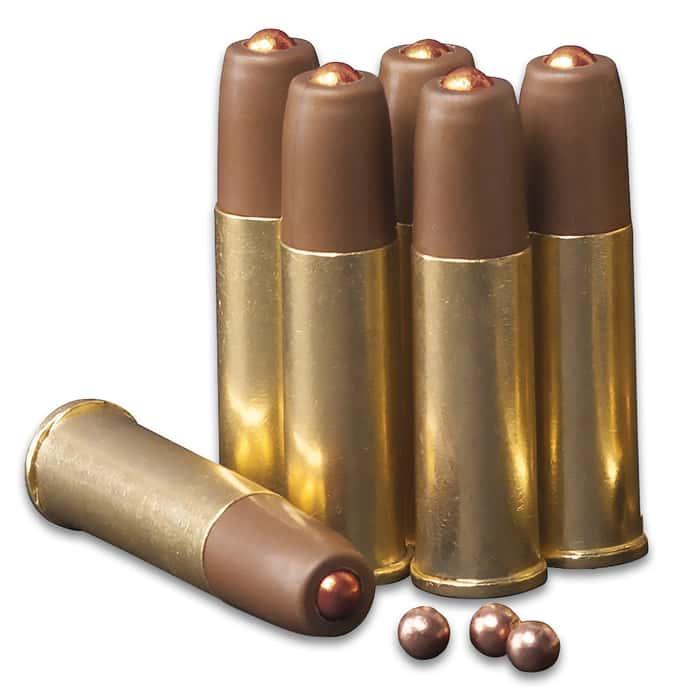 Crosman SR357 Revolver Air Gun - Full Metal Construction, Six-Shot Cylinder, Reusable Cartridges, Adjustable Rear Sight