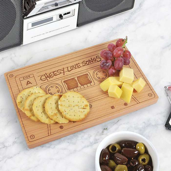 Cheesy Mix Tape Cheese Board