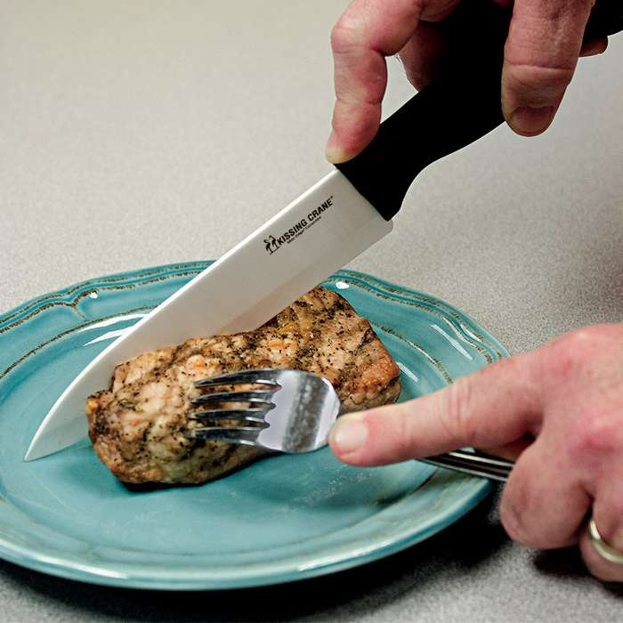 Kissing Crane Max Edge Ceramic Blade Chef Knife