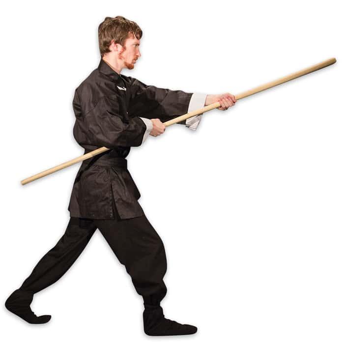 6' Wax Wood Self Defense / Training Staff