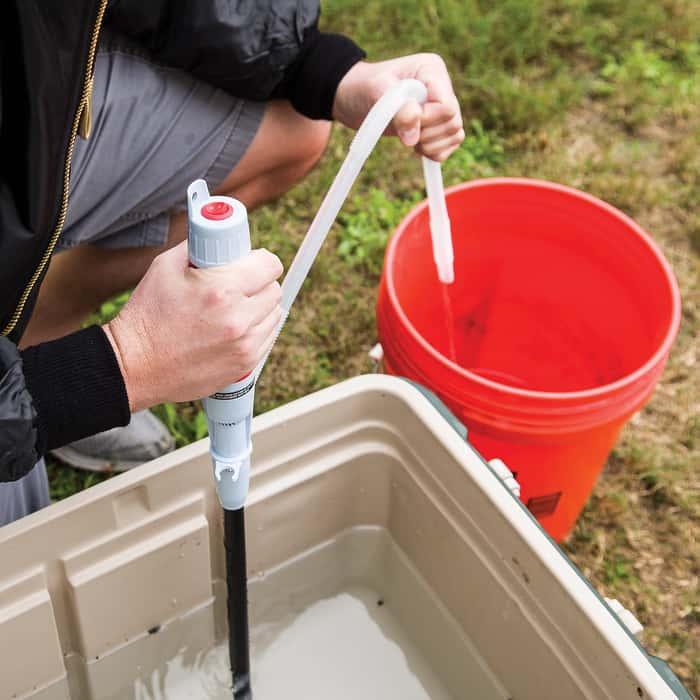 Liquid Transfer Pump - Electric Siphon - Pumps 5 to 6 qts. Per Minute