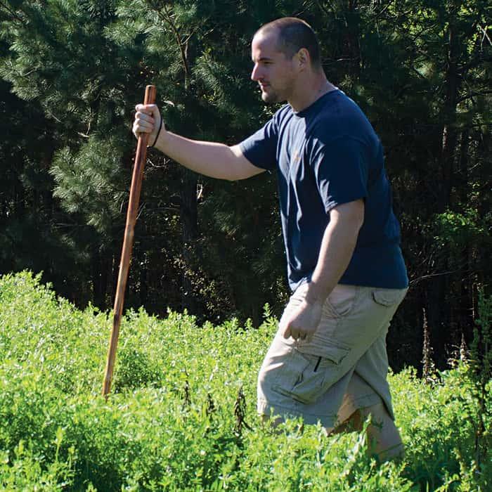 Detachable Wooden Walking/Hiking Stick 3 Piece