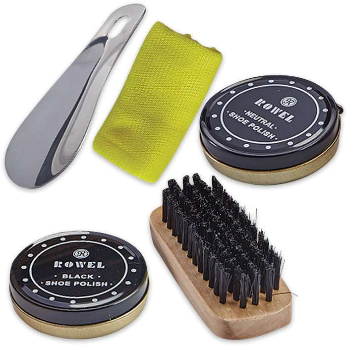 Members Only Shoeshine Kit