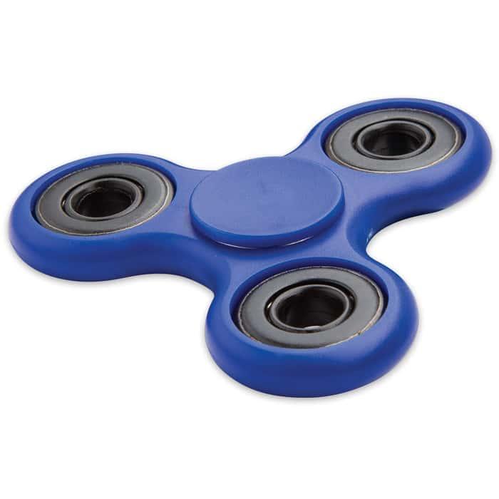 Blue Fidget Tri-Spinner