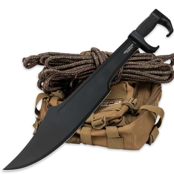 Combat Commander Modern Tactical Spartan Sword - 1065 Carbon Steel