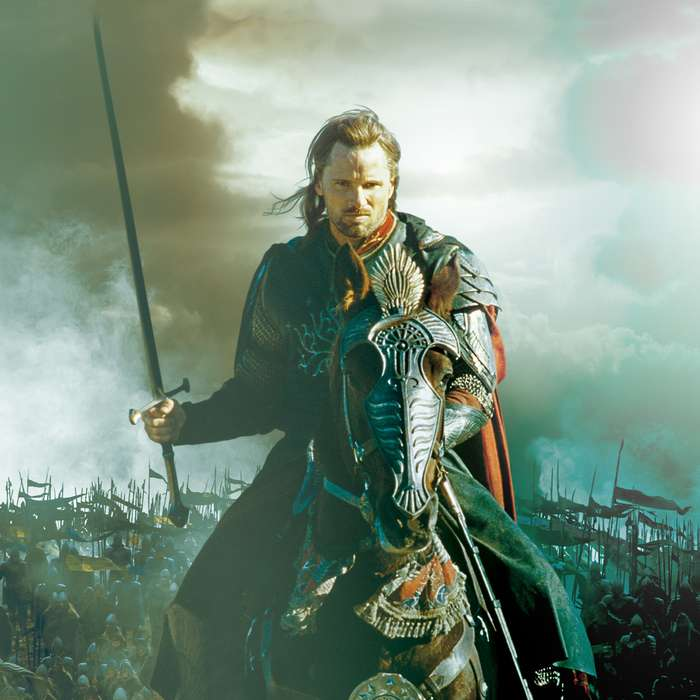"""United Cutlery Lord of the Rings LOTR Anduril Sword of King Elessar with Wall Plaque - 52 7/8"""" Length, The Hobbit"""