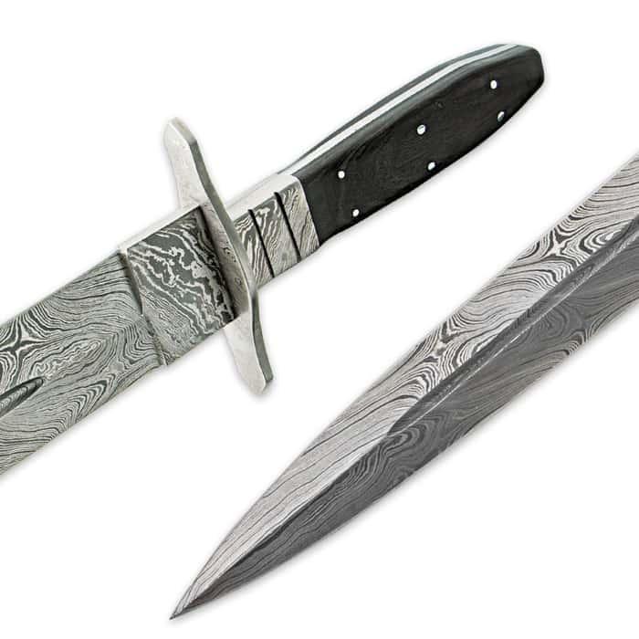 Legends In Steel Blackwood Damascus Steel Sword